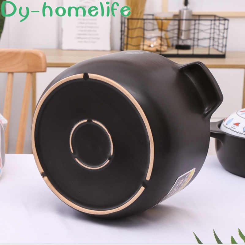 和風マルチサイズの漫画セラミック鍋レストランキッチン家庭用直火耐熱ダブル耳スープポット