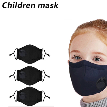 3 Pack Children Face Masks, PM 2.5 Anti Dust Mouth Masks Washable Face Masks with pm 2.5 filters and Adjustable Straps