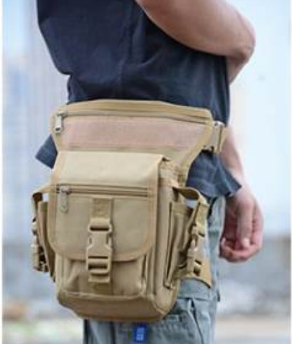 1pc Ride Leg Bag Special Waterproof Weapons Tactics Outdoor Sport   Military Waist Pack  Drop Utility Thigh Pouch