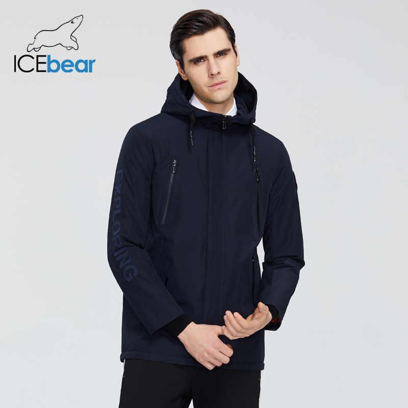 Icebear 2020 Nieuwe Heren Jas Kwaliteit Heren Jas Mannelijke Hooded Jas Casual Mannen Kleding MWC20823I