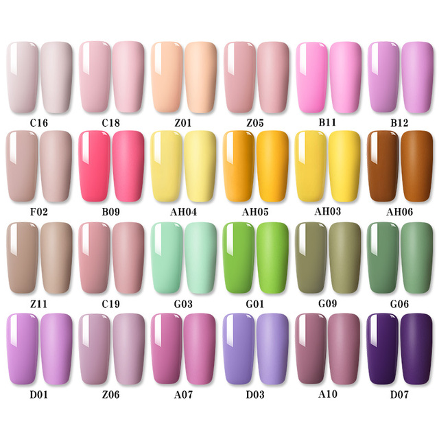 1 Bottle 8ml MAD DOLL Spring Series Gel Polish Color Nail Gel Soak Off LED UV Gel Varnish Nail Art DIY Nail Art Design 2