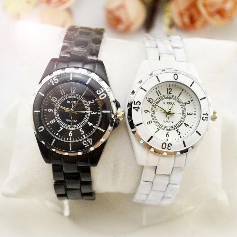 Ladies Watch New Fashion Women Analog Quartz Watch Female Ceramic Wrist Watches Women's Clock Relojes