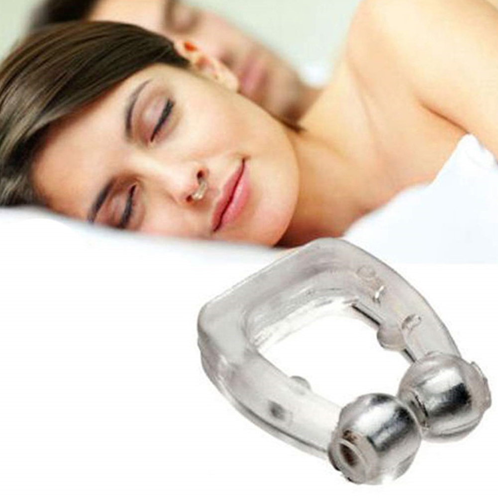Reusable Safe Anti Snore Clip Breathe Smooth Portable Transparent Effective Silicone Nose Personal Sleeping Aid Apnea Guard