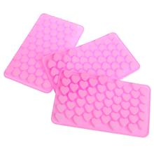 Mold Silicone Gadgets-Tools Ice-Cube-Mold Chocolate-Tray Heart-Shape Food Kitchen Mini