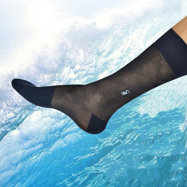 Tube Socks Male Dress Socks Gifts For Men Sheer Socks Exotic Formal Wear Suit Men Socks Sexy Gay Transparent Business TNT Socks