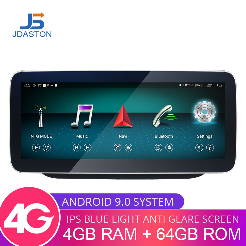 JDASTON Android 9.0 Car Multimedia Player For <font><b>Mercedes</b></font> Benz B Class <font><b>W246</b></font> GPS Navigation Radio Display Touch Screen Bluetooth image