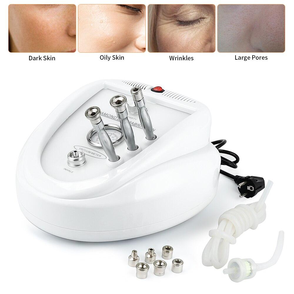 Diamond Dermabrasion Machine Skin Care Acne Wrinkle Removal Water Spray Exfoliation Peeling Facial Lifting Vacuum Suction Tool - 3
