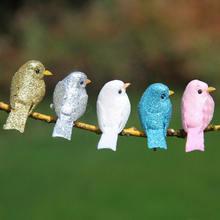 12 шт DIY декоративные пенные имитация птицы мини микро декоративные реквизит искусственная птица