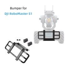 Schutz Bar für DJI RoboMaster S1 Anti Kollision Crash Frontschürze Schutz Halter mit Schraube Weiches Kissen Zubehör