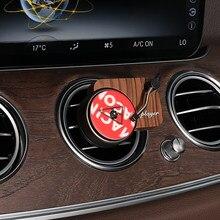 Turntable carro fragrância refrogerador de ar do carro record player flavoring no carro com 3pcs substituir aromaterapia folha