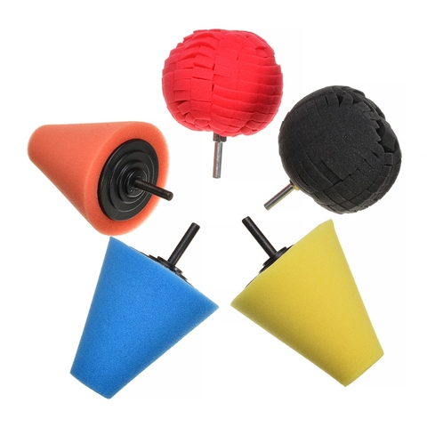 4 pcs roda de polimento roda esferica