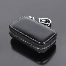 цена на 1X Car Key Case Remote Bag Cover Accessories For Hyundai getz solaris i30 ix35 elantra gt santa fe tucson accent  i20 creta i40