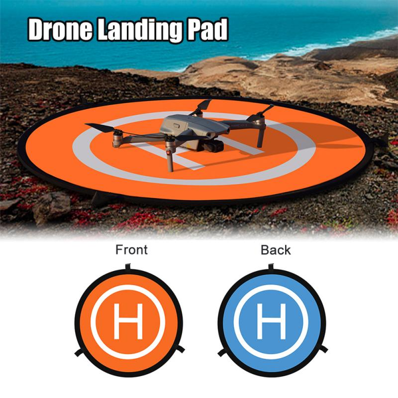 Foldable Landing Pad 50CM 55CM 75CM For DJI Mavic Pro Mini Air Spark Mavic 2 Phantom 3 4 Drone Universal Accessories