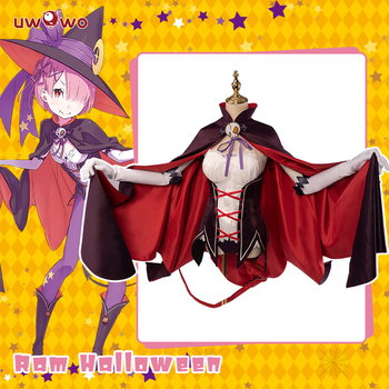 UWOWO Ram Re:Life in a different world from zero Cosplay Rem Ram Party Costume Women Anime Re zero Cosplay re zero life in a different world from zero anime ram rem bikini exq ver boxed 22cm pvc action figure t30