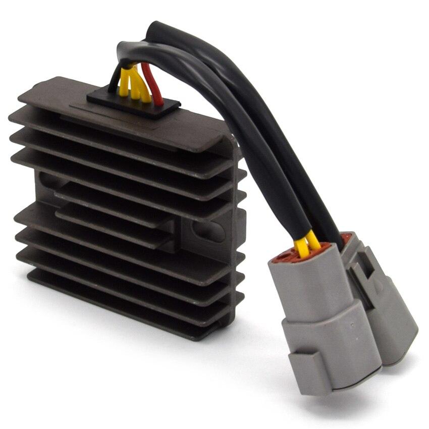 Regulador de tensión regulador rectificador para esquí doo GSX500 GSX600 MXZ Cumbre 600 MX ZX 800 Cumbre Skandic SS HO rastro carbohidratos MX ZX 440 carreras