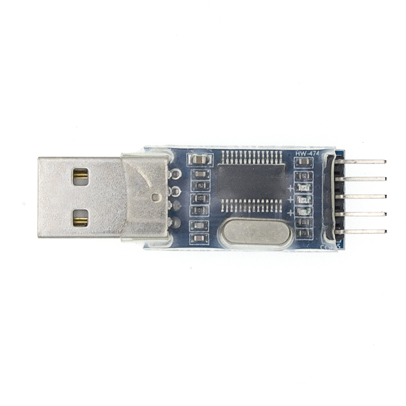 Free Shipping 100PCS PL2303HX USB to TTL / USB-TTL / STC microcontroller programming module / PL2303 nine of the upgrade board