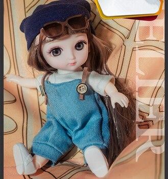 Кукла шарнирная 16 см. 3