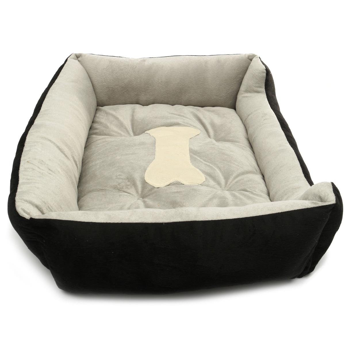 Bed For Dogs Warm Flannel Warm Waterproof Bottom Soft Fleece Warm Cat House Petshop Puppy Mats Kennel Play Rest Sleep Cushion 15