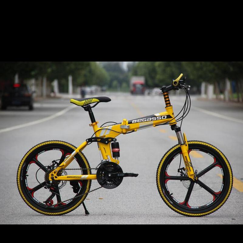 Children's mountain bike 20 inch disc brake system High-quality carbon steel frame bicycle