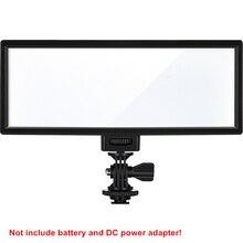 Viltrox l132t led luz de vídeo bicolor dimmable dslr estúdio lâmpada painel de luz para câmera dv camcorder