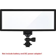 Viltrox luz LED para vídeo L132T, pantalla LCD ultrafina bicolor y regulable, Panel de lámpara de luz para estudio DSLR para cámara DV y videocámara