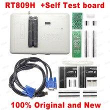 2020 mais novo rt809h emmc nand flash programador + adaptador tsop48 tsop56 + sop8 bga48 bga63 bga64 bga169 adaptadores clipe