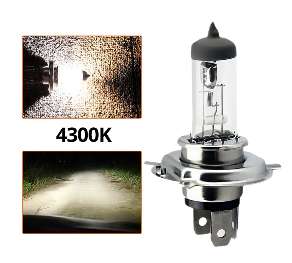 Yellow H7 12V 55W Halogen Car Light HeadLight Bulb Lamp LED Quartz Glass 4300k