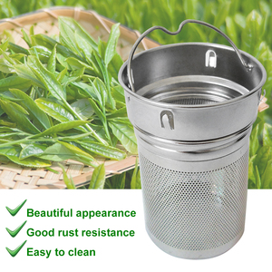 Two Mesh Hiking Portable Bottle Cup Home Non-rust Office Tea Strainer Spice Laser Hole Drinking Stainless Steel Filter(China)