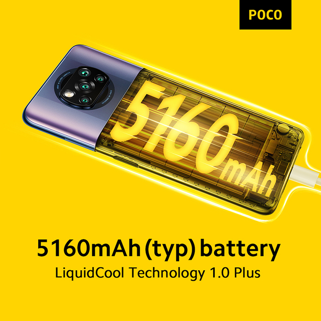 In Stock POCO X3 PRO NFC 128G 256G Global Version Snapdragon 860 Quad Camera 120Hz 33W Fast Charge 5160mAh Battery Smartphone 5