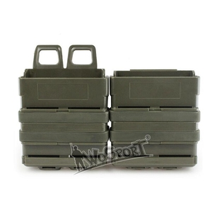New 2 PCS 7.62 Fast Mag Holder Molle Tactical FastMag Pouch Hunting Accessories AK M4 Rifle Pistol Magazine Pouch(China)