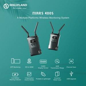 Image 2 - Hollyland Sao Hỏa 400 Không Dây Truyền Tải Video Hệ Thống HDMI SDI 1080P Không Dây HD Hình Ảnh Thu Phát Chụp Ảnh