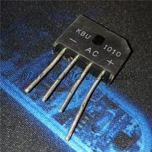 200PCS/LOT  KBU1010 10A1000V Flat Bridge Rectifier/Bridge New and original