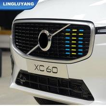 Für volvo xc60 s90 xc40 xc90 R-D Sport version China grid drei-farbe streifen dekorative auto aufkleber