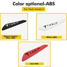 4 PCS For Tesla Model 3 Model X Model S Model Y Car Side Door Edge Strip Scratch Protector Guard Sticker For Tesla Model Three
