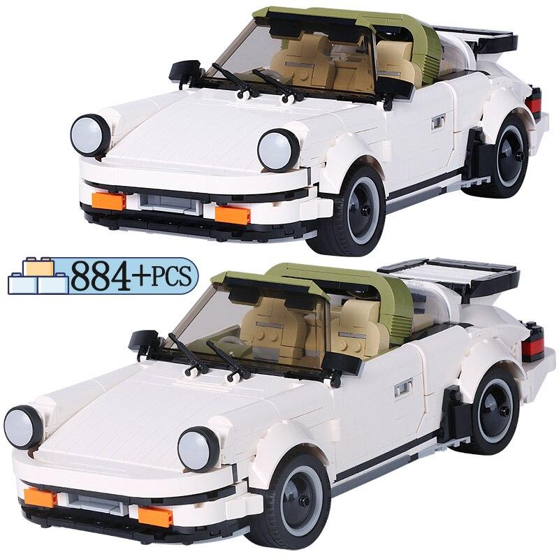 Ville Super voiture créateur série blocs de construction Legoing technique Sport voiture ensemble briques noël cadeau jouets pour enfants