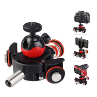 L8X Panoramic 360 Shooting Camera Electric Photography Car Video DV Movie Vlog Gear Track Motorized Electric Slider Motor Truck