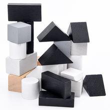 Детские развивающие геометрические игрушки Монтессори Деревянные