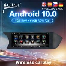 Android 10 para Mercedes-Benz clase C (W204) 2011- 2014 GPS para coche de navegación Auto Radio estéreo DVD Multimedia reproductor de vídeo Unidad Principal