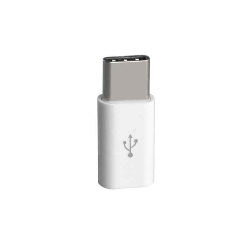 1/5 قطعة الهاتف المحمول محول المصغّر USB إلى USB C محول مايكرو موصل ل شاومي هواوي سامسونج غالاكسي A7 محول USB نوع C