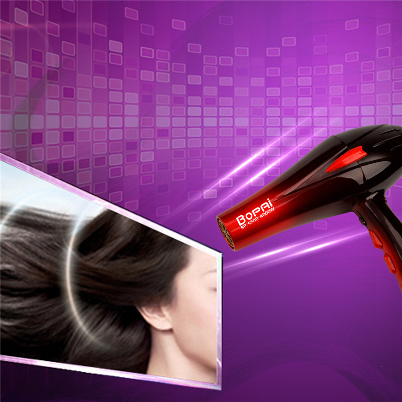 Image 5 - Professional Electric 4000W Travel Household Hair Dryer Hair Styling Tools Blow Dryer Hot and Cold Air Dryer Salon With Nozzle-in Hair Dryers from Home Appliances