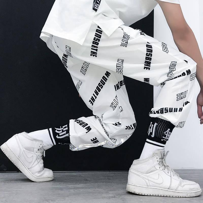Hip Hop Pantalones Streetwear Harajuku Joggers Hombres Pant Tezonnix