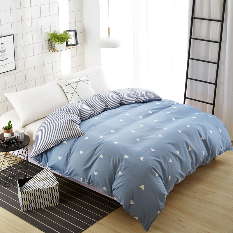 1pc Floral Pattern Home Bedding Duvet Cover Double-sided AB Version Soft Comfortable Quilt Comforter Cover Home Textiles