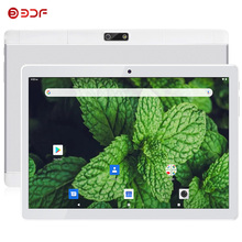 New 10.1 Inch Tablet Android 9.0 Octa Core 4G Phablet 1280x800 IPS 32GB Tablet PC Google Play GPS Dual SIM Cards LTE Wifi Type-C