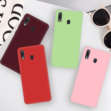 Fashion Lembut Silicone Case untuk Samsung A50 A30 A70 A40 A60 A20 A10 S10 S8 S9 Plus Catatan 10 8 9 10 M10 M20 M30 M40 Slim Cover Case(China)