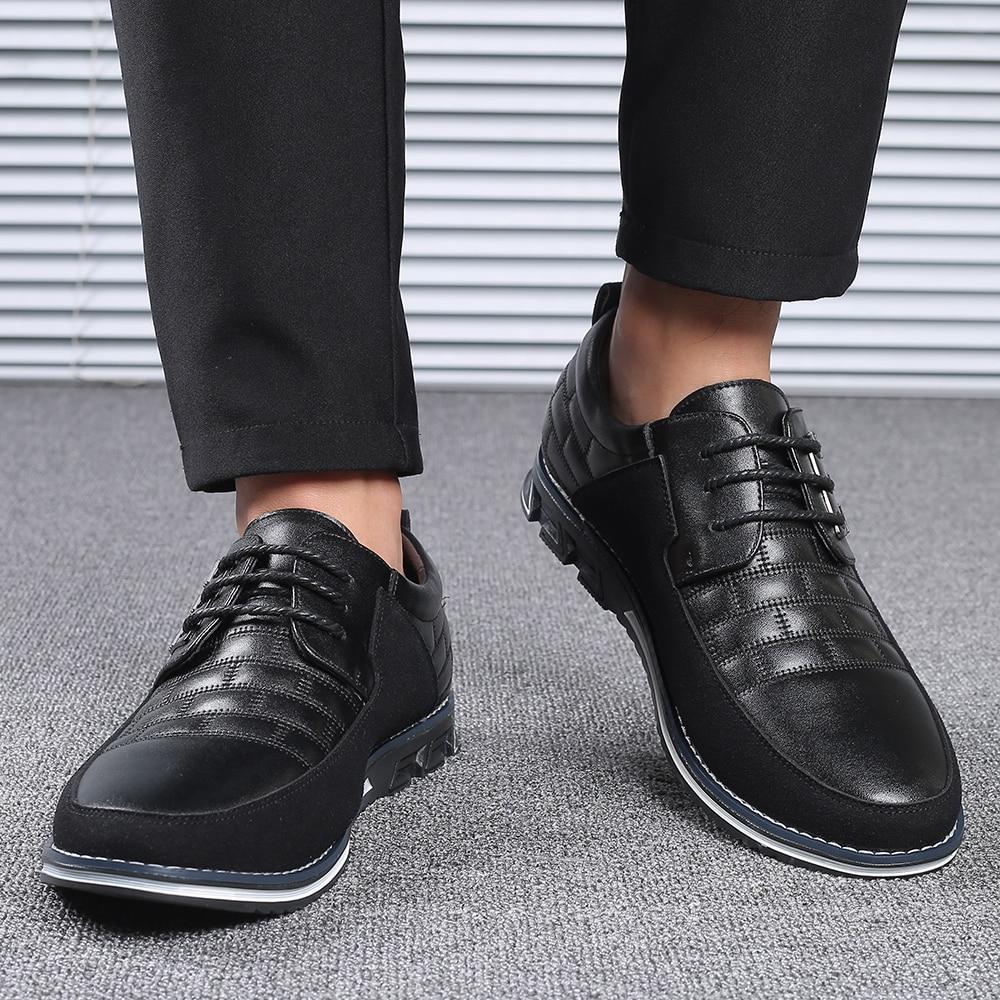 H649aafffa051444188328d82ec65da8aI 2019 New Big Size 38-48 Oxfords Leather Men Shoes Fashion Casual Slip On Formal Business Wedding Dress Shoes Men Drop Shipping