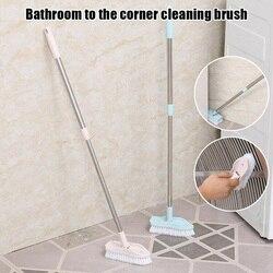 Regulowana łazienka podłogi do czyszczenia szorowania szczotka z długą rączką teleskopową do wanny JAN88 w Szczotki do czyszczenia od Dom i ogród na
