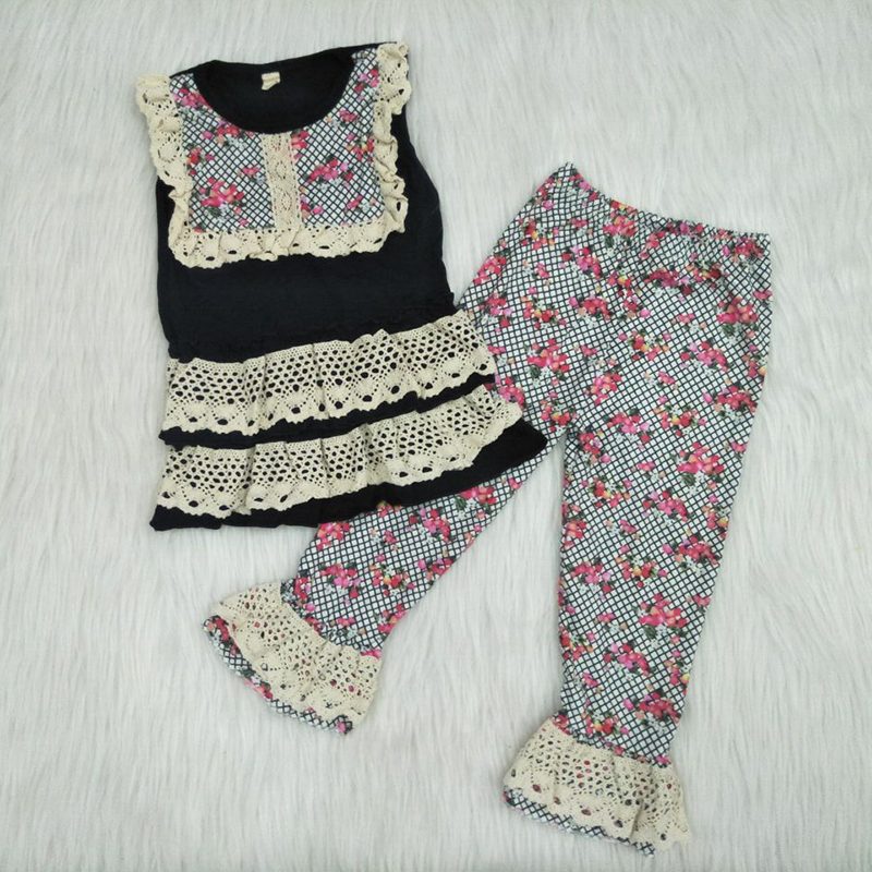 Hole Denim Shorts Outfits Clothing Set 6M-4T Toddler Baby Girls Off Shoulder Bow Leopard Print Tops