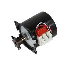 1 pces 220 v ou 110 v incubadora gire os ovos motor motor reversível engrenado motor incubadora acessórios a maioria de incubadora 2.5r/min