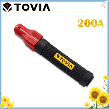 TOVIA 200A Electrode Holders Professional Screw Weld Holder 1.0-4.0mm Safe Weld Clamp