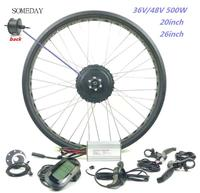 Vender https://ae01.alicdn.com/kf/H649b5ba61b674ed3801f8f7aaac156aeV/Algún día kit de conversión de bicicleta eléctrica para nieve con pantalla LCD6 20 26 pulgadas.jpg